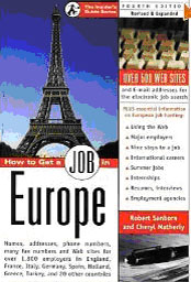 How to get a job in Europe